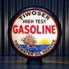 Tiwoser High Test Gasoline (Tidewater) Globe | Pogo's Garage