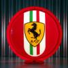 Ferrari - Gas Pump Globe