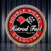 Double Nickel custom gas pump globe