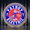 Fatboy Electric custom gas pump globe