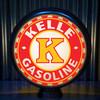 Kelle Oil Co custom gas pump globe