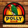 "Polly Gas 12"" Pump Decal"
