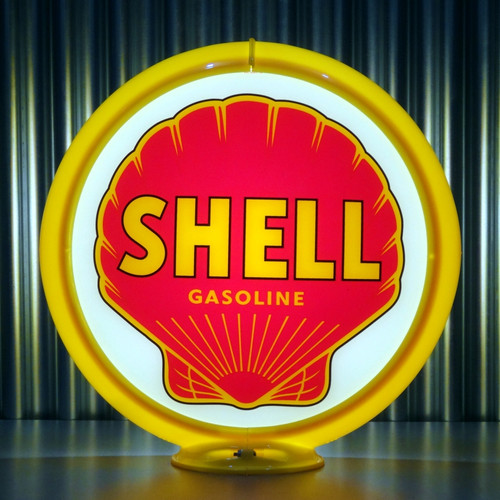 "Shell Gasoline - 13.5"" Gas Pump Globe"