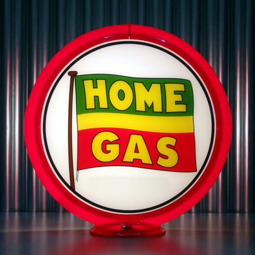 "Home Gas of BC - 13.5"" Gas Pump Globe"
