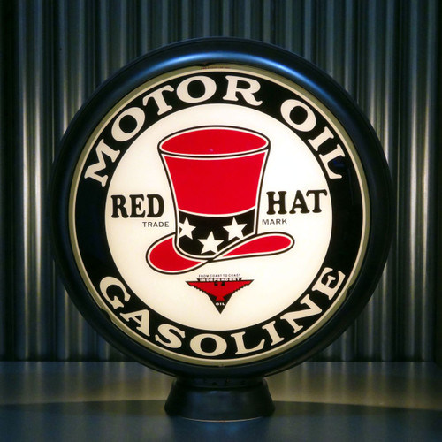 "Red Hat Motor Oil & Gasoline 15"" Lenses"