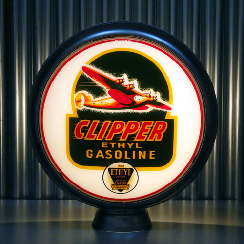 "Clipper Ethyl Gasoline 15"" Lenses"