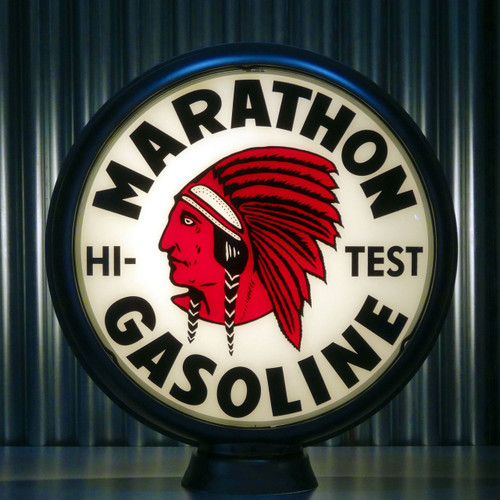 "Red Indian Marathon Gasoline 15"" Lenses"