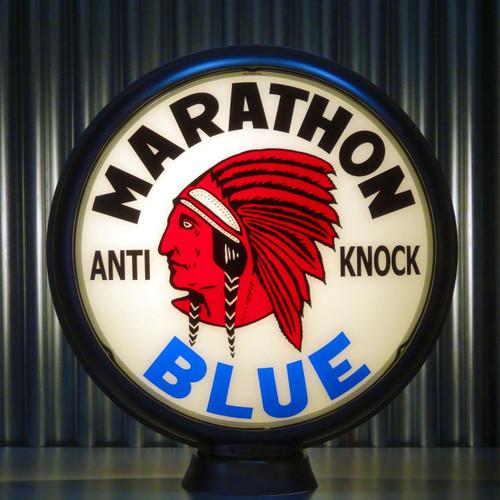 "Red Indian Marathon ""BLUE"" Gasoline 15"" Lenses"