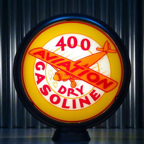 """Shell 400 Dry Aviation Gasoline 15"""" Ltd Ed Lenses"""