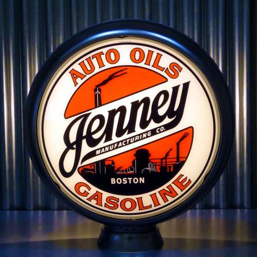 """Jenney Auto Oils Gasoline 15"""" Lenses"""