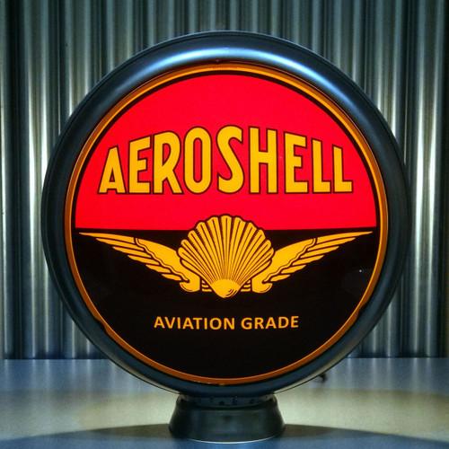 """Shell Aeroshell Gasoline 15"""" Ltd Ed Lenses"""