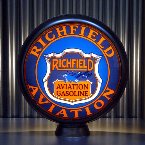 "Richfield Aviation Gasoline 15"" Lenses"