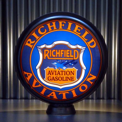 """Richfield Aviation Gasoline 15"""" Lenses"""