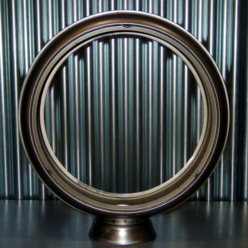 "15"" Steel High Profile Globe Body"