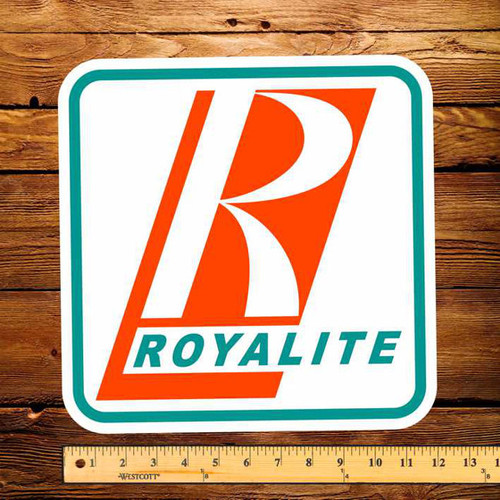 "Royalite (Early) 12"" Pump Decal"