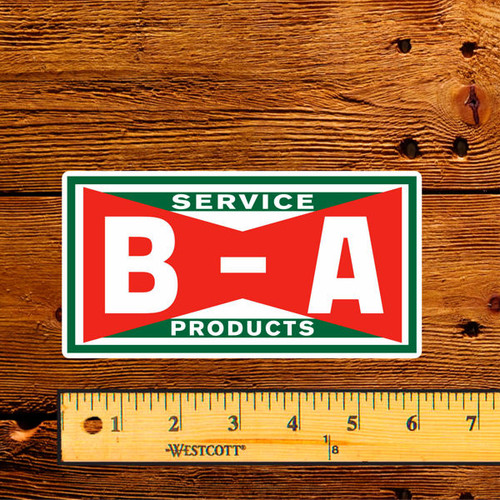"""BA Bowtie Service Products 6"""" Lubester Decal"""