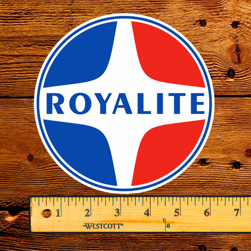 "Royalite Products 6"" Lubester Decal"