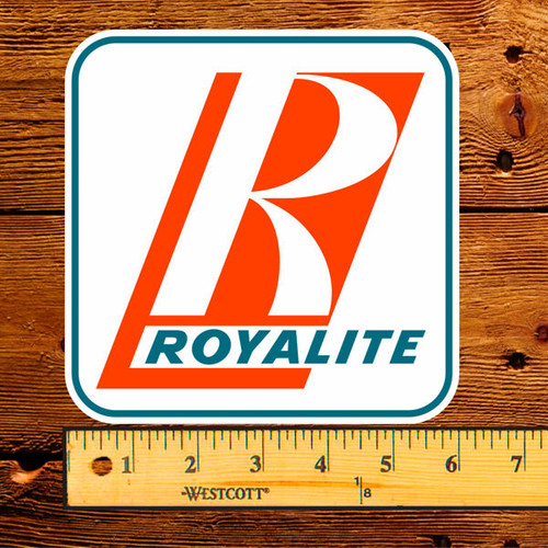 "Royalite (Big R) 6"" Lubester Decal"