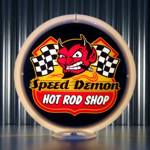 Speed Demon custom globe | Pogo's Garage