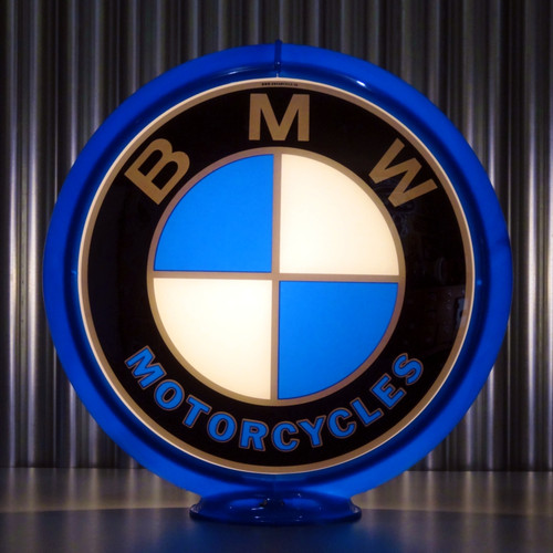 BMW Motorcycles custom globe | Pogo's Garage