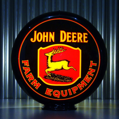 John Deere custom globe   Pogo's Garage