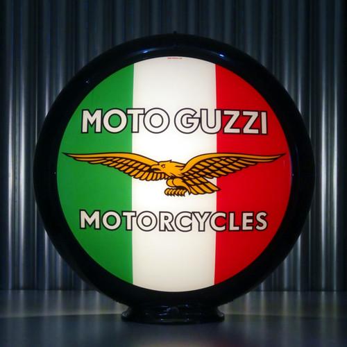 Moto Guzzi Motorcycles custom globe | Pogo's Garage