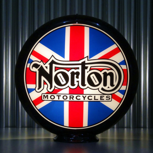 Norton Motorcycles custom globe | Pogo's Garage