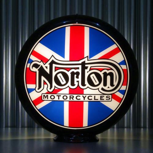 Norton Motorcycles custom globe | Pogo's Garage