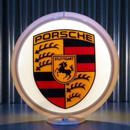 Porsche custom globe | Pogo's Garage