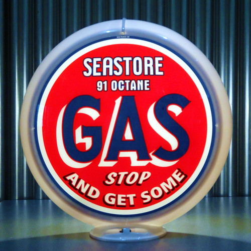 SeaStore Octane Gas custom globe | Pogo's Garage