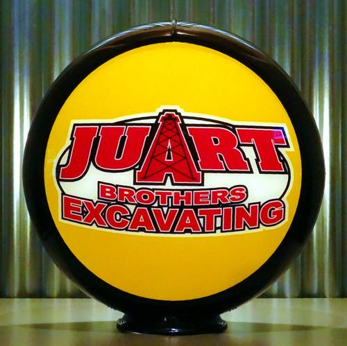 Juart Bros custom globe | Pogo's Garage
