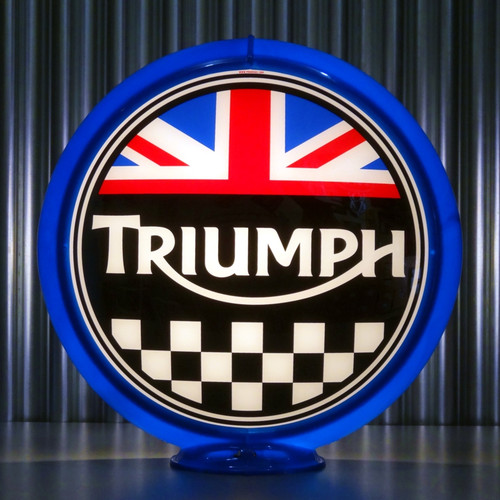 "Triumph Sales & Service - 13.5"" Advertising Globe"