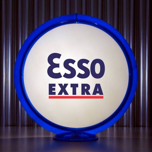 """ESSO Extra Gasoline - 13.5"""" Gas Pump Globe"""