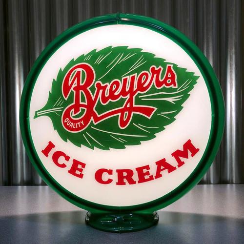 "Breyers Ice Cream - 13.5"" Advertising Globe"