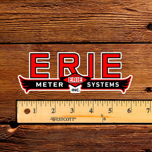 """Erie Meter Systems 6"""" Decal"""