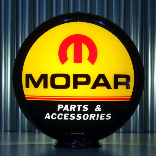 "Mopar Parts - 13.5"" Advertising Globe"