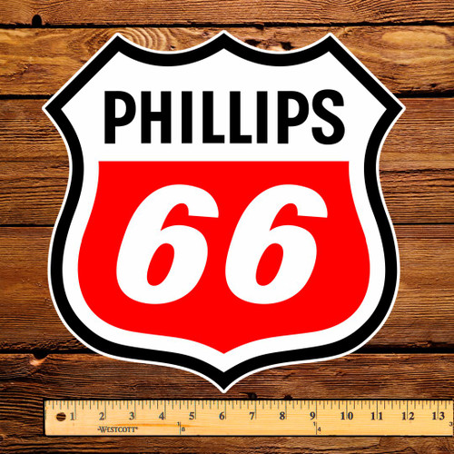 """Phillips 66 12"""" Pump Decal"""