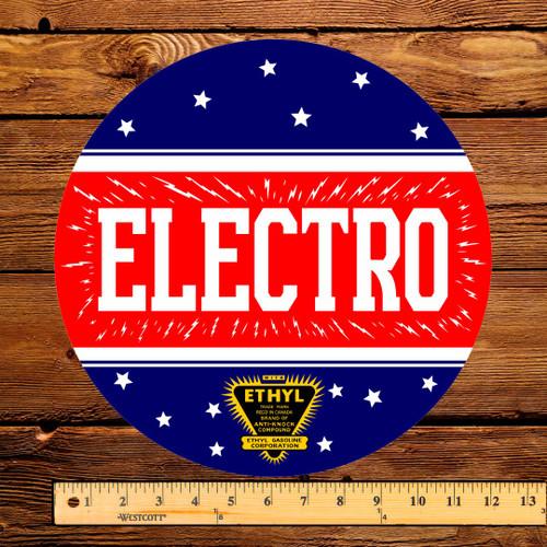 "North Star Electro Gasoline 12"" Pump Decal"