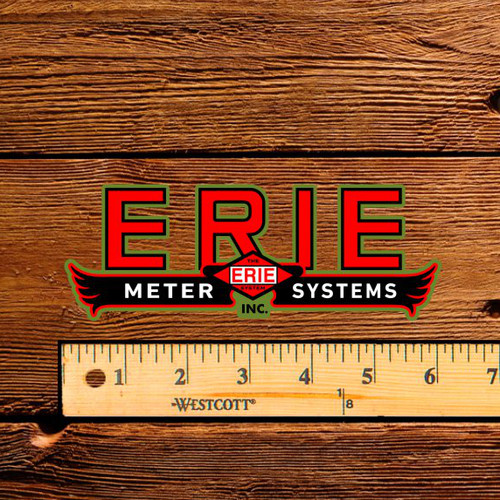 "Erie Meter Systems 6"" Decal"
