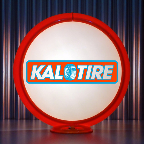 Kal Tire custom globe
