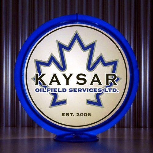 Kaysar Oilfield Services custom globe