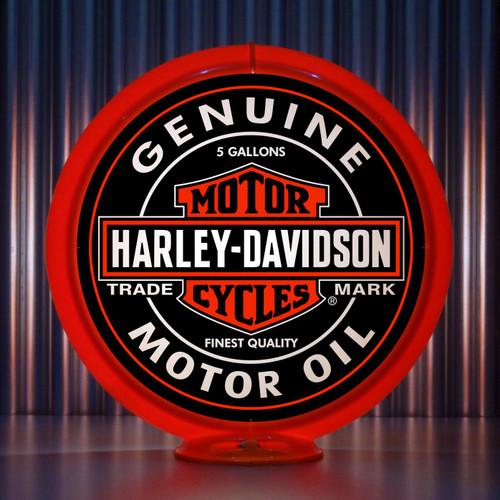 Harley Davidson custom gas pump globe