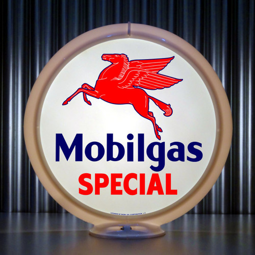 Mobilgas Special Flying Horse | Gas Pump Globe