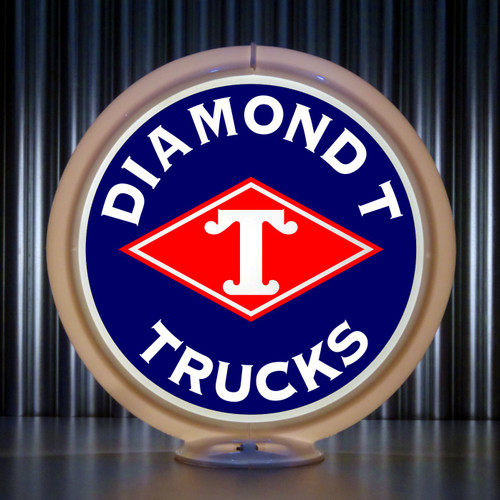 Diamond T Trucks | Gas Pump Globe