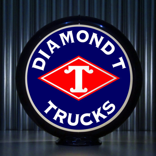 Diamond T Trucks | Gas Pump Globe