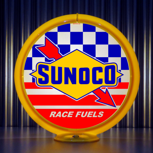 "Sunoco Race Fuels - 13.5"" Gas Pump Globe"