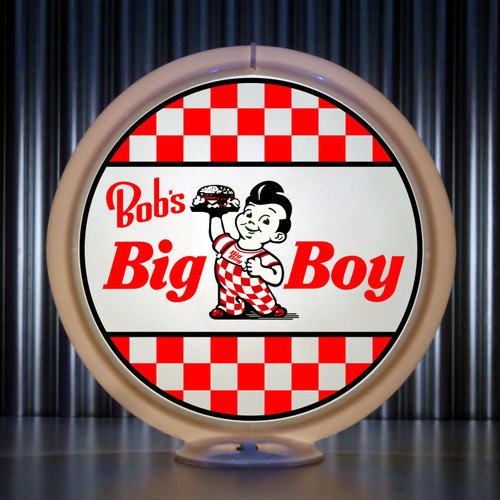 Bob's BIG BOY custom gas pump globe