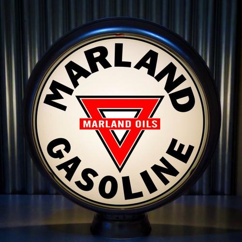 """Conoco MARLAND Oils Gasoline 15"""" Lenses"""