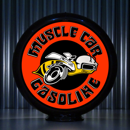 Super Bee - Muscle Car Gasoline | Gas Pump Globe