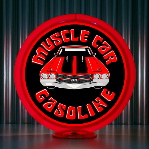 Chevelle SS - Muscle Car Gasoline | Gas Pump Globe